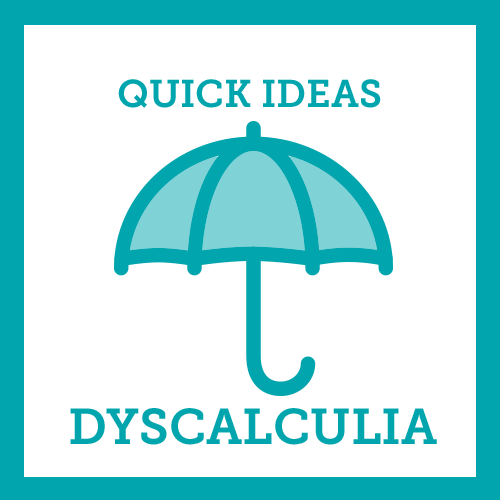 Quick Ideas Dyscalculia icon