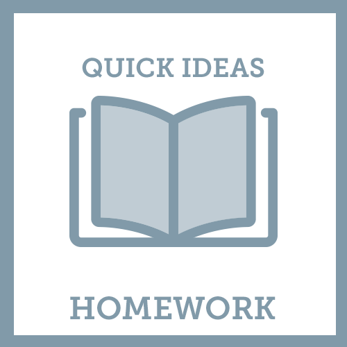 Quick Ideas Homework icon