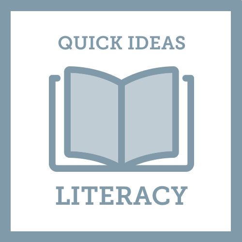 Quick Ideas Literacy icon